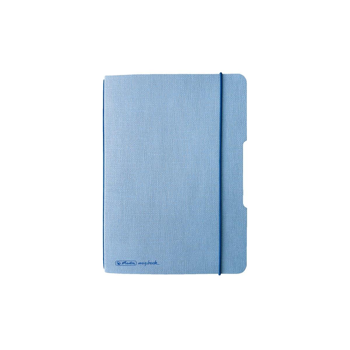 Vorschau: Herlitz 50033737 - Einfarbig - Blau - A6 - 40 Blätter - Erwachsener