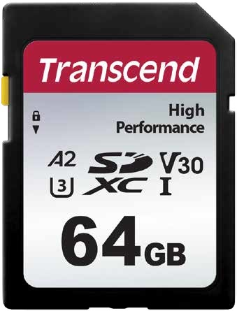 Transcend 330S - Flash-Speicherkarte - 64 GB