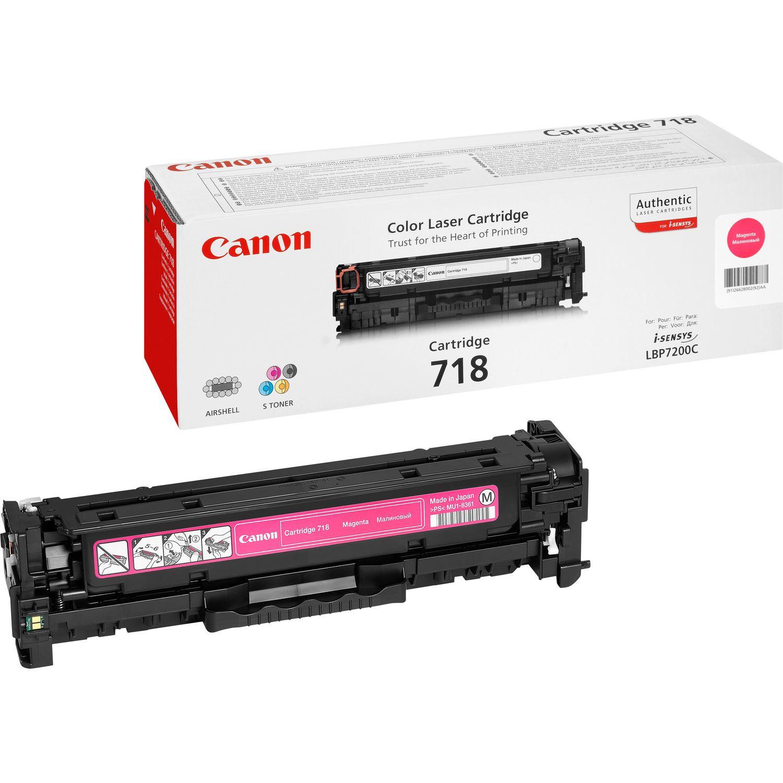 Canon CRG-718 M Laser cartridge 2900Seiten Magenta