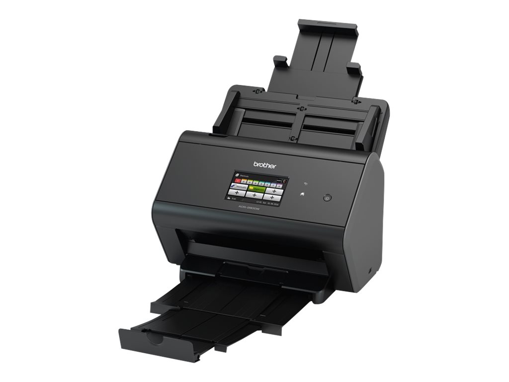 Brother ADS-2800W - Dokumentenscanner - Duplex - A4 - 600 dpi x 600 dpi - bis zu 30 Seiten/Min. (einfarbig)