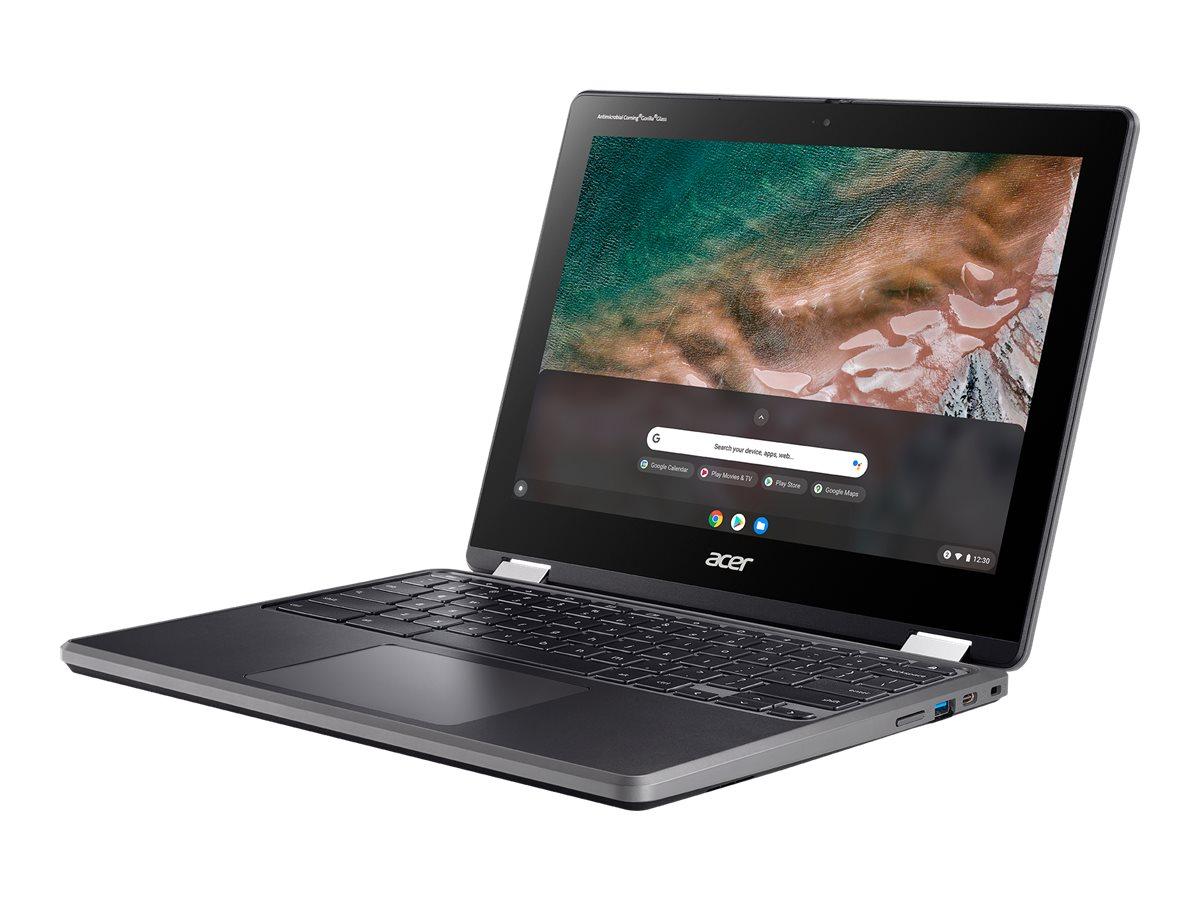 Acer Chromebook Spin 512 R853TA - Flip-Design - Celeron N5100 / 1.1 GHz - Chrome OS - 4 GB RAM - 32 GB eMMC - 30.5 cm (1