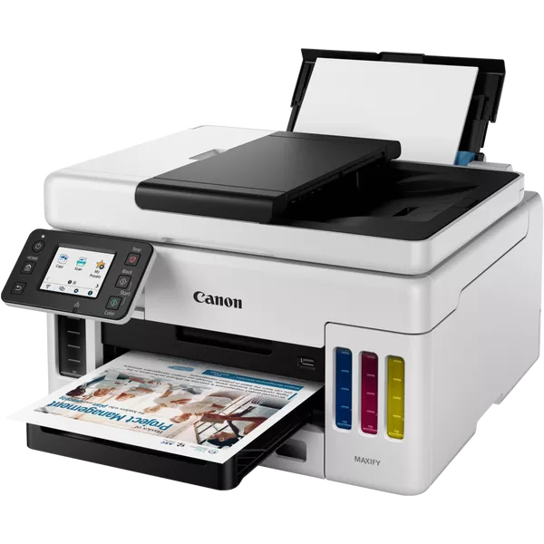 Canon MAXIFY GX6050 - Multifunktionsdrucker - Farbe - Tintenstrahl - refillable - Legal (216 x 356 mm)/