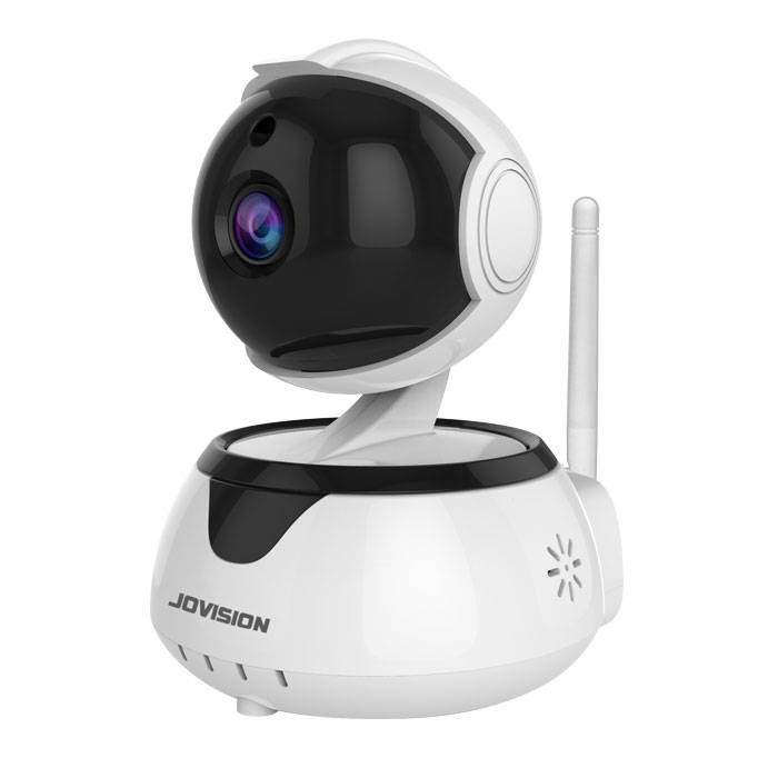 Jovision JVS-HD301C R2 - IP-Sicherheitskamera - Indoor - Verkabelt & Kabellos - Sphärisch - Tisch/Bank - Schwarz - Weiß