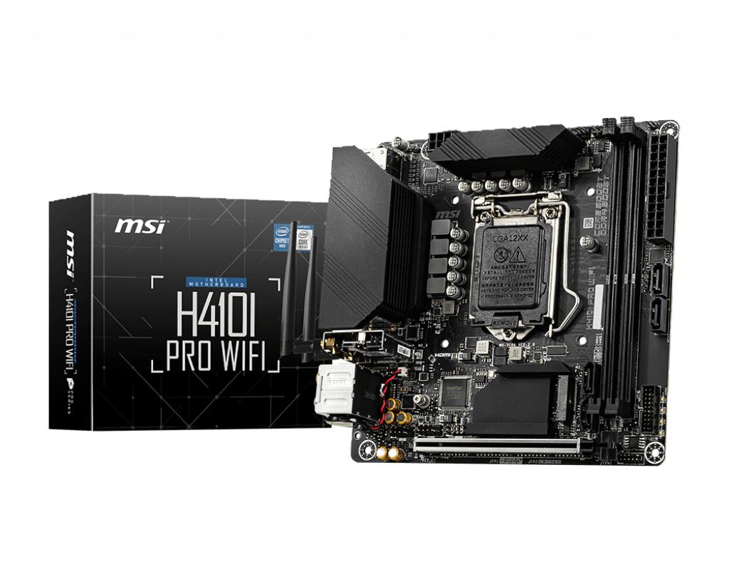 MSI H410I PRO WIFI - Mainboard - mini-ITX