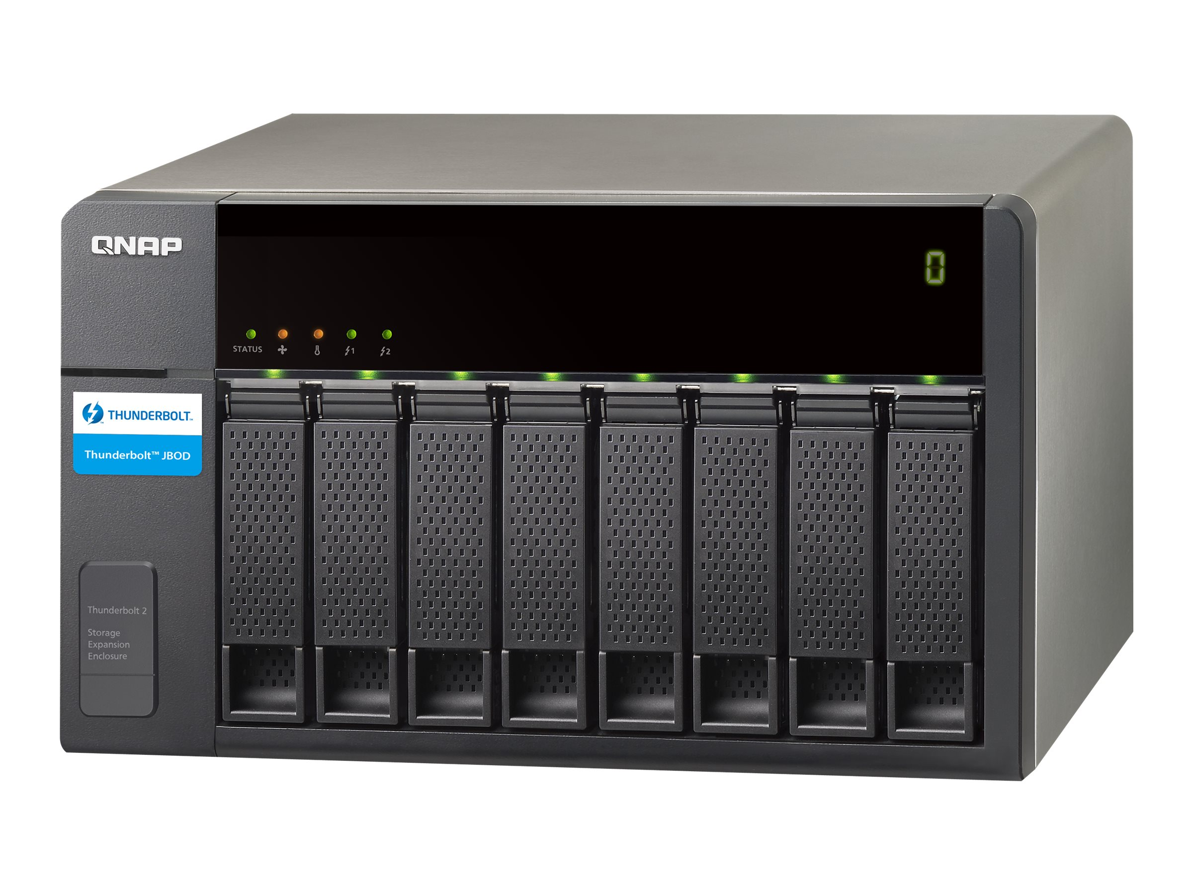 QNAP TX-800P - Festplatten-Array