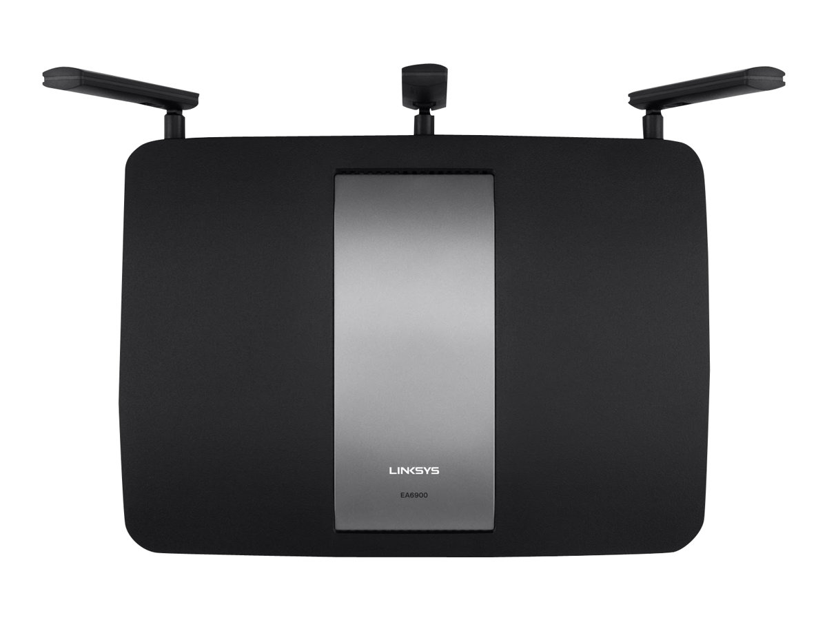 Linksys EA6900 - Wireless Router - 4-Port-Switch - GigE, 802.11ac (Entwurf)