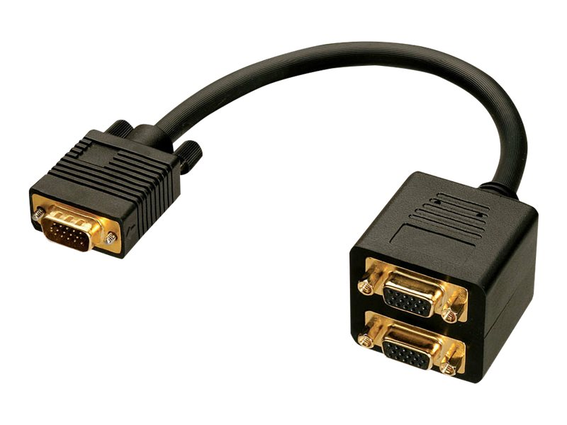 Lindy VGA-Splitter - HD-15 (VGA) (M) bis HD-15 (VGA)