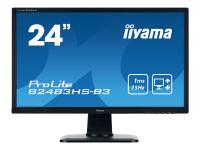ProLite B2483HS-B3 24Zoll Full HD TN Matt Schwarz Computerbildschirm LED display