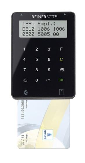 ReinerSCT Reiner SCT tanJack Bluetooth - Indoor - Schwarz - Deutschland - Bluetooth - LCD - Windows 8.1