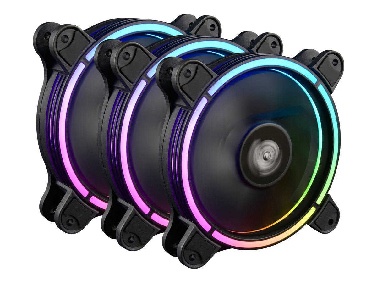 Enermax T.B. RGB AD UCTBRGBA12P-BP3 - Gehäuselüfter - 120 mm (Packung mit 3)