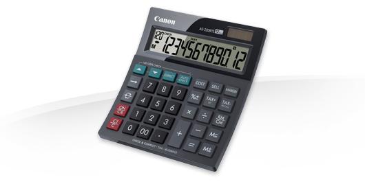 Canon AS-220RTS Desktop Display-Rechner Schwarz