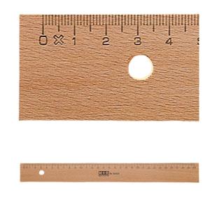 Möbius   Ruppert 1950 - 0000 - Schreibtisch-Lineal - Buche - Holz - cm - mm - 50 cm - 1 Stück(e)