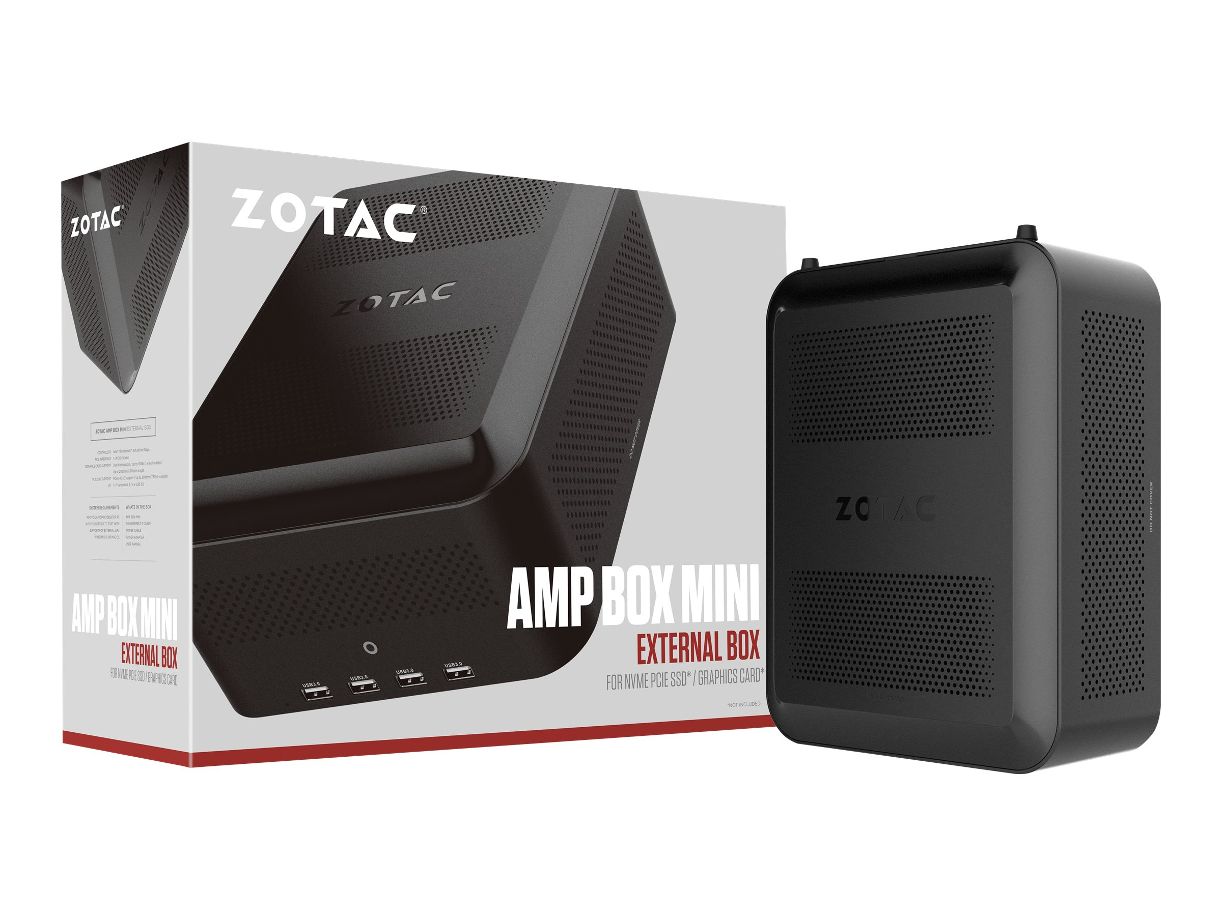 ZOTAC AMP BOX Mini - Externes GPU-Geh?use - Thunderbolt