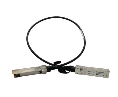 SilverNet SFP 10 Gbps Direct Attach Cables 1 m DAC SFP+ SFP+ Male/Male Black