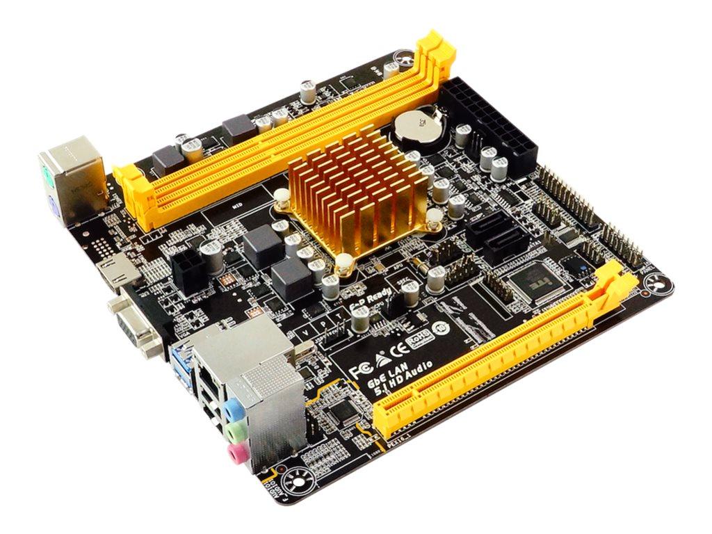 Biostar A68N-2100E - Motherboard - Mini-ITX - AMD E1 2100 - USB 3.1 Gen 1 - Gigabit LAN - Onboard-Grafik - HD Audio (6-Kanal)