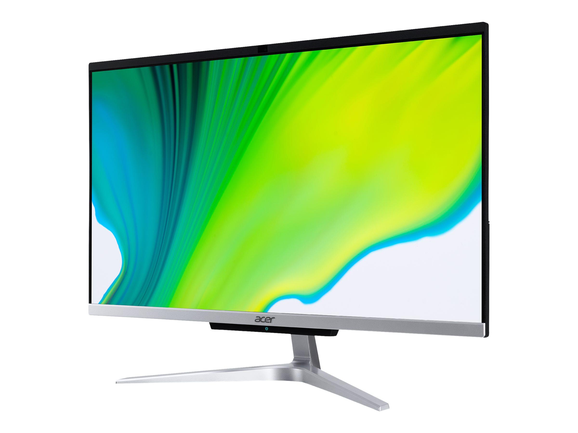 Acer Aspire C 24 C24-420 - All-in-One (Komplettl?sung) - Ryzen 3 3250U / 2.6 GHz - RAM 8 GB - SSD 512 GB - Radeon Graphi