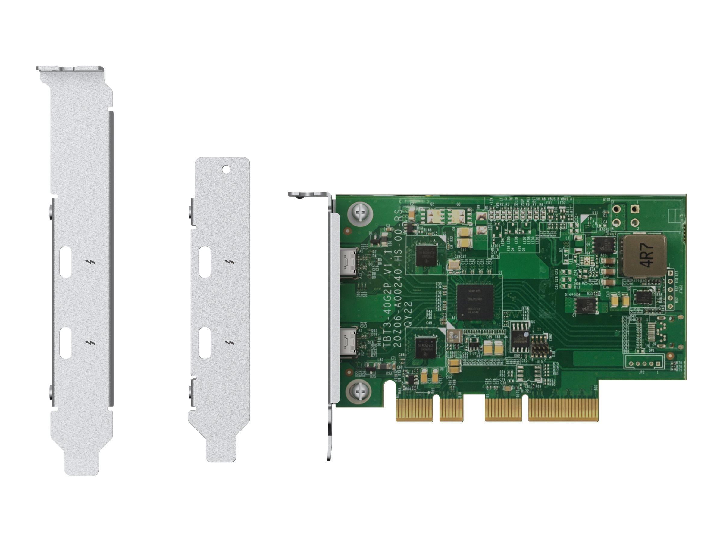 QNAP QXP-T32P - Thunderbolt-Adapter - PCIe 3.0 x4 Low-Profile