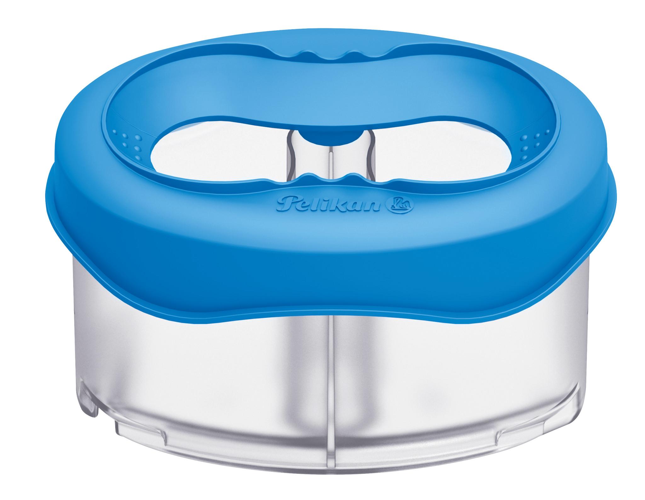 Pelikan 800310 - Wasserbox für Space+ und K12 - Transparent - Blau