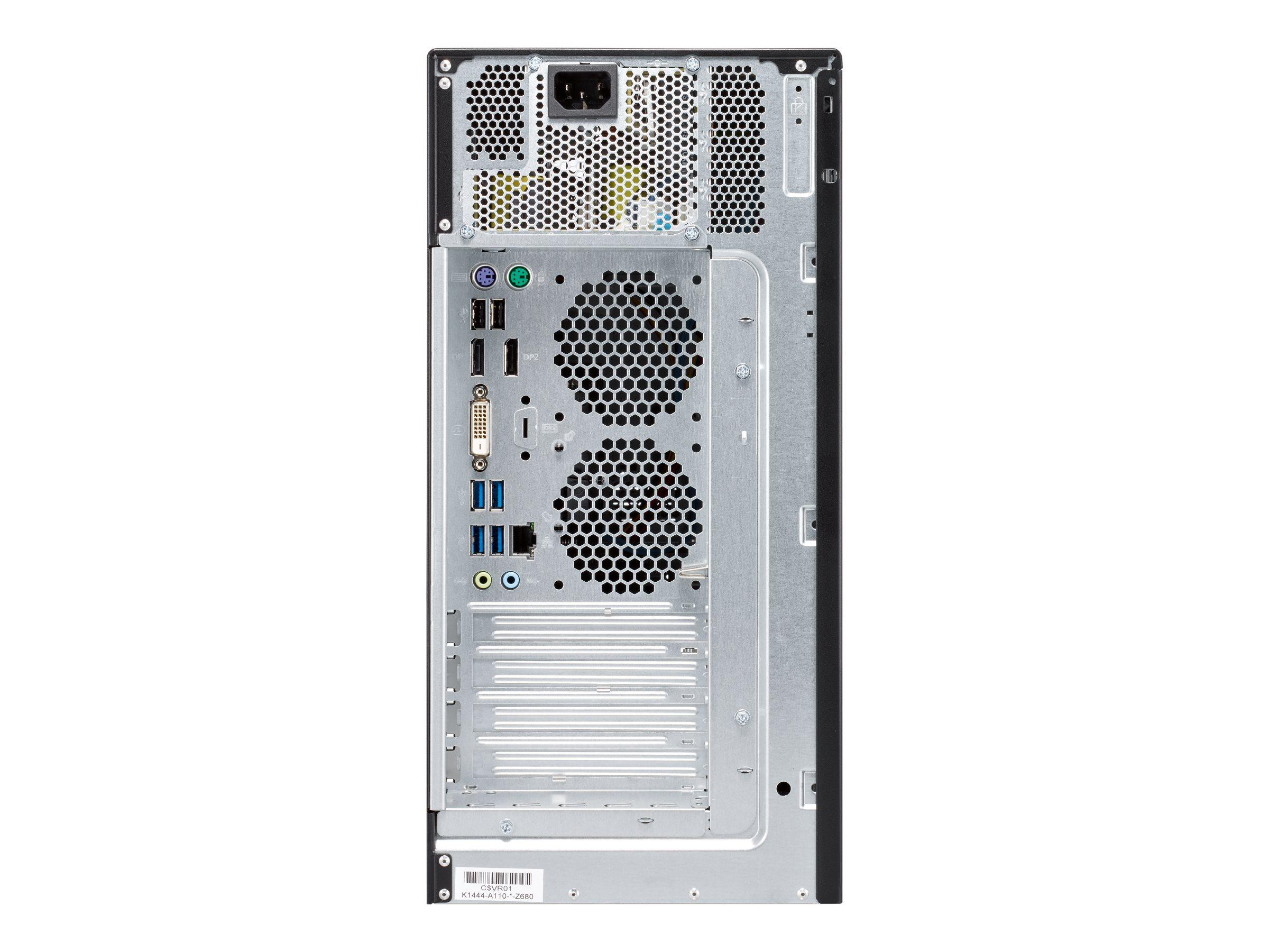 Fujitsu ESPRIMO P558/E85+ - Micro Tower - Core i3 9100 / 3.6 GHz