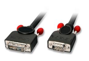 Lindy DVI-I VGA-Adapterkabel - Kabel - Digital/Display/Video