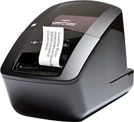 Image of Brother QL-720NW - Etiketten-/Labeldrucker Farbig Etiketten-/Labeldrucker - 300 dpi - 1,55 ppm