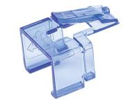 771443 Kabelklammer Blau - Transparent 50 Stück(e)