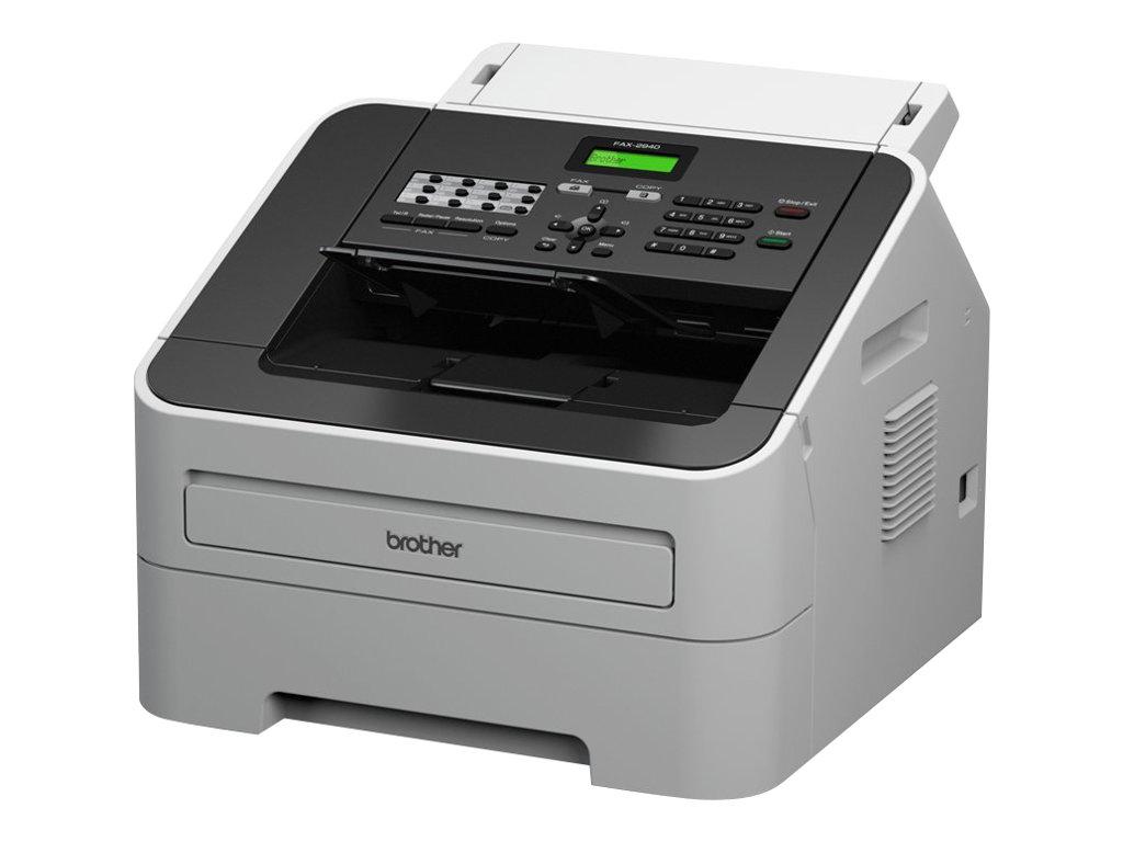 Brother FAX-2940 - Faxgerät / Kopierer - s/w - Laser - 216 x 406.4 mm (Medien)