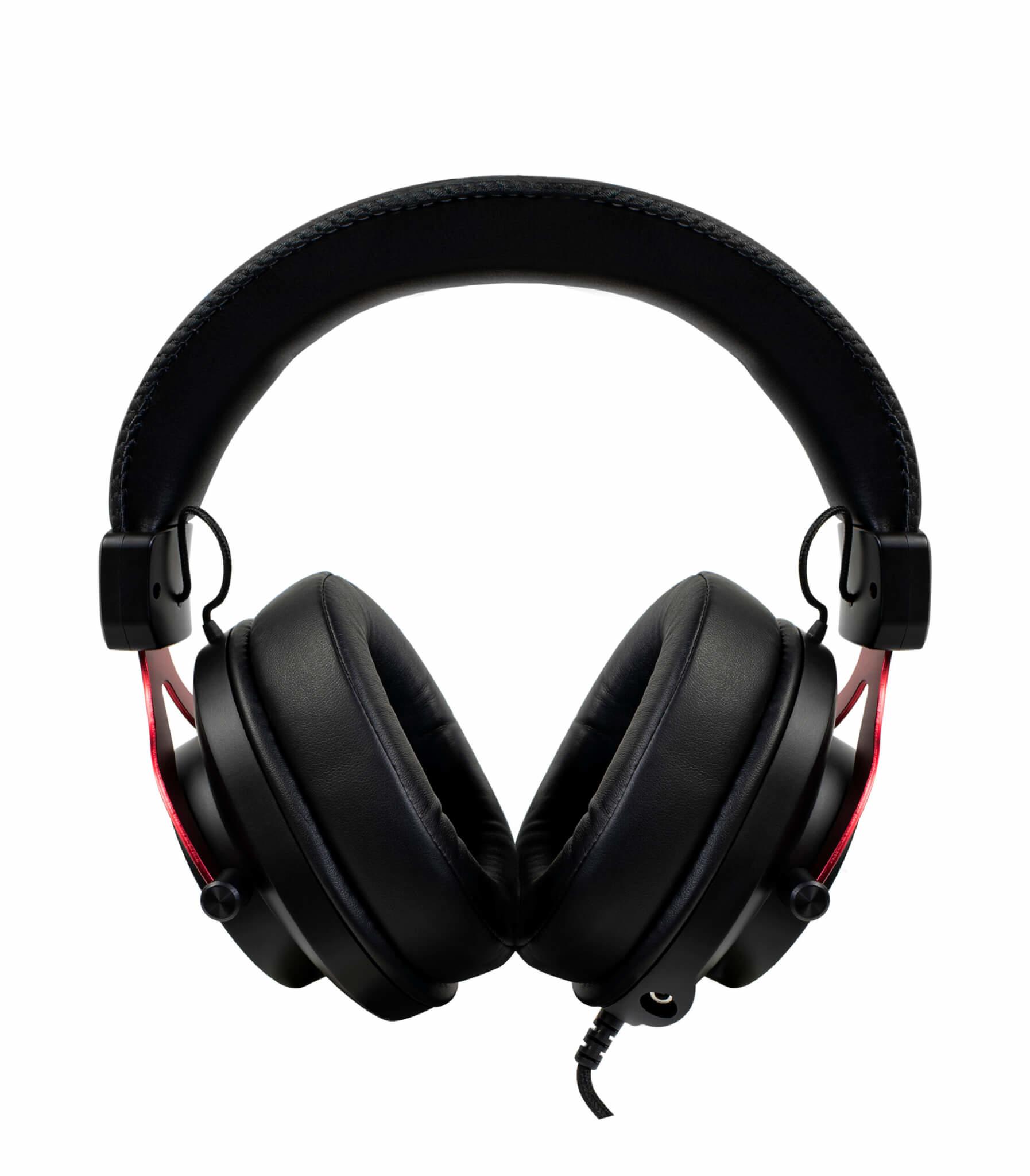 Arozzi Aria - Kopfhörer - Kopfband - Gaming - Schwarz - Rot - Binaural - Drehregler