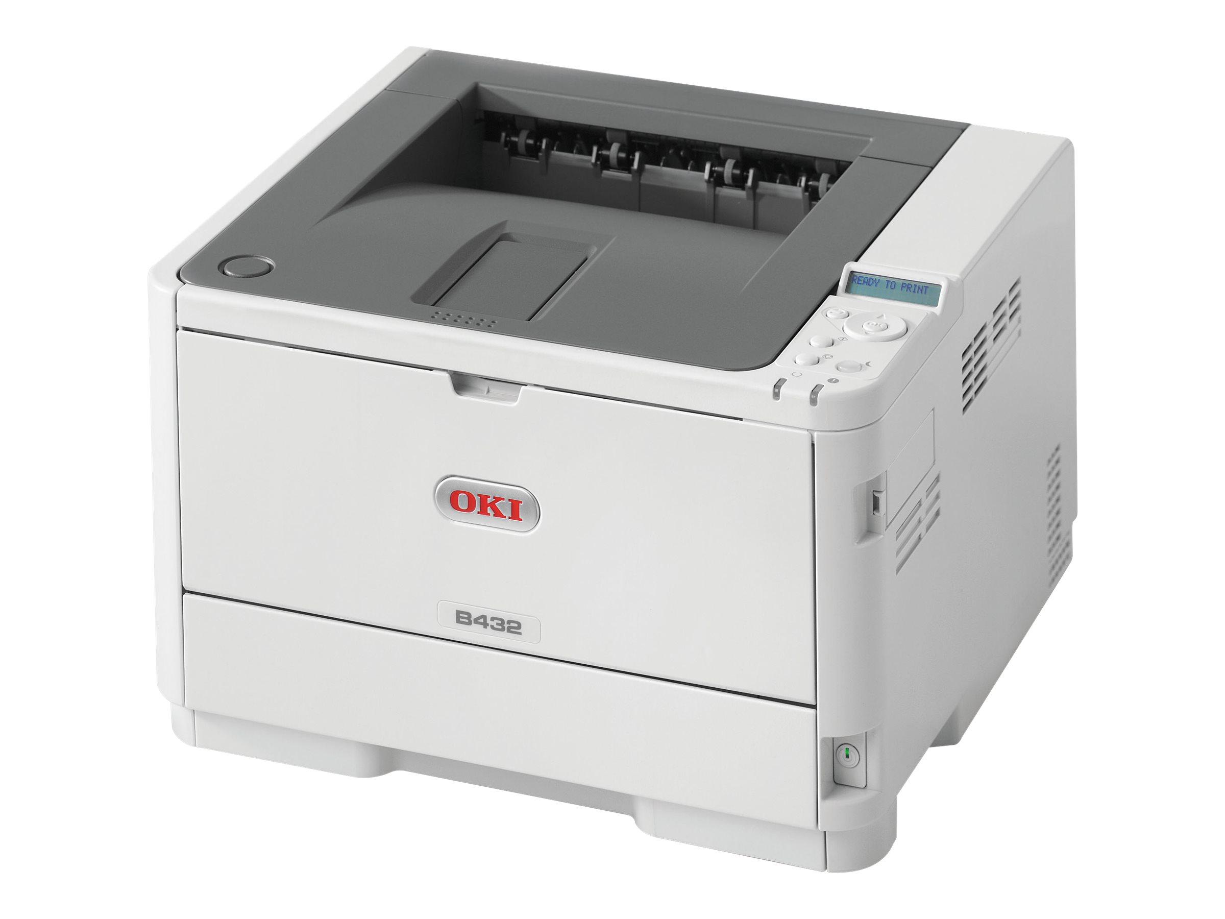 OKI B432dn - Drucker - s/w - Duplex - LED - A4/Legal
