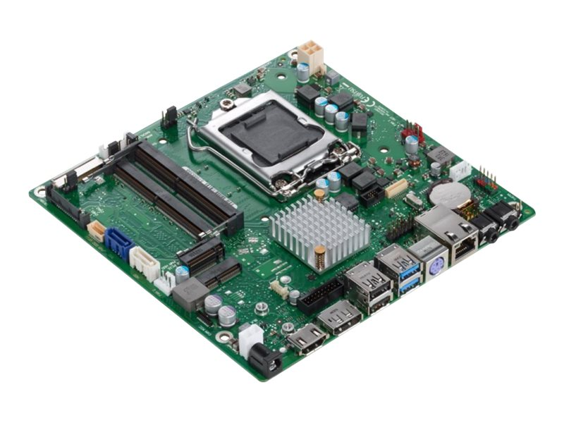Fujitsu D3474-B - Motherboard - Thin mini ITX - LGA1151 Socket - H110 - USB 3.0 - Gigabit LAN - Onboard-Grafik (CPU erforderlich)