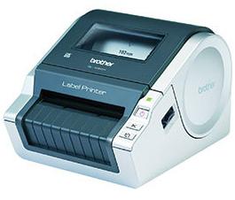 Brother P-Touch QL-1060N - Drucker s/w Etiketten-/Labeldrucker, Tintenstrahldruck - 300 dpi - 22 ppm