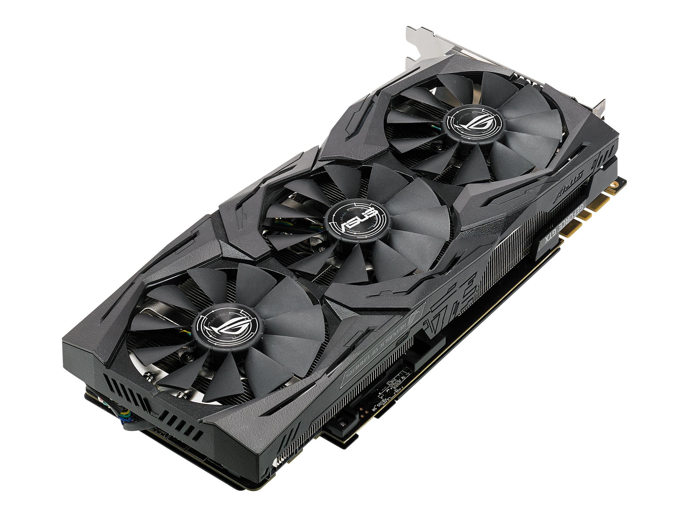 ASUS ROG STRIX-GTX1080-O8G-11GBPS