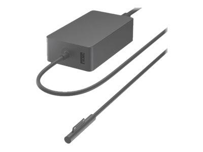 Microsoft Surface 127W Power Supply - Netzteil - 127 Watt - EMEA - Schwarz - kommerziell - für Surface Book 3 (15 Zoll)