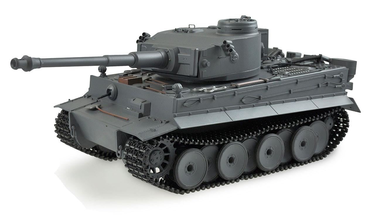 Amewi 23040 - Funkgesteuerter (RC) Panzer - Elektromotor - 1:16 - Grau - Metall - Tiger I