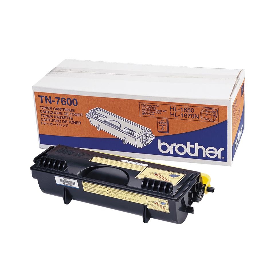 Brother TN TN7600 - Tonereinheit Original - Schwarz - 500 Seiten