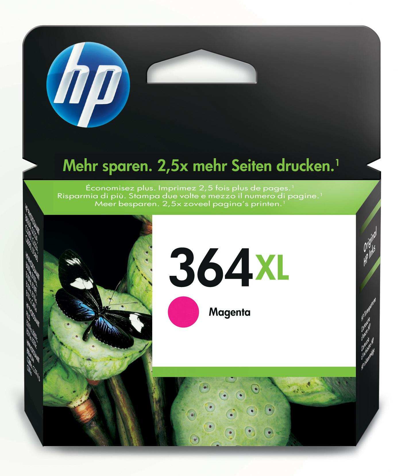 HP 364XL Magenta Ink Cartridge magenta Tintenpatrone