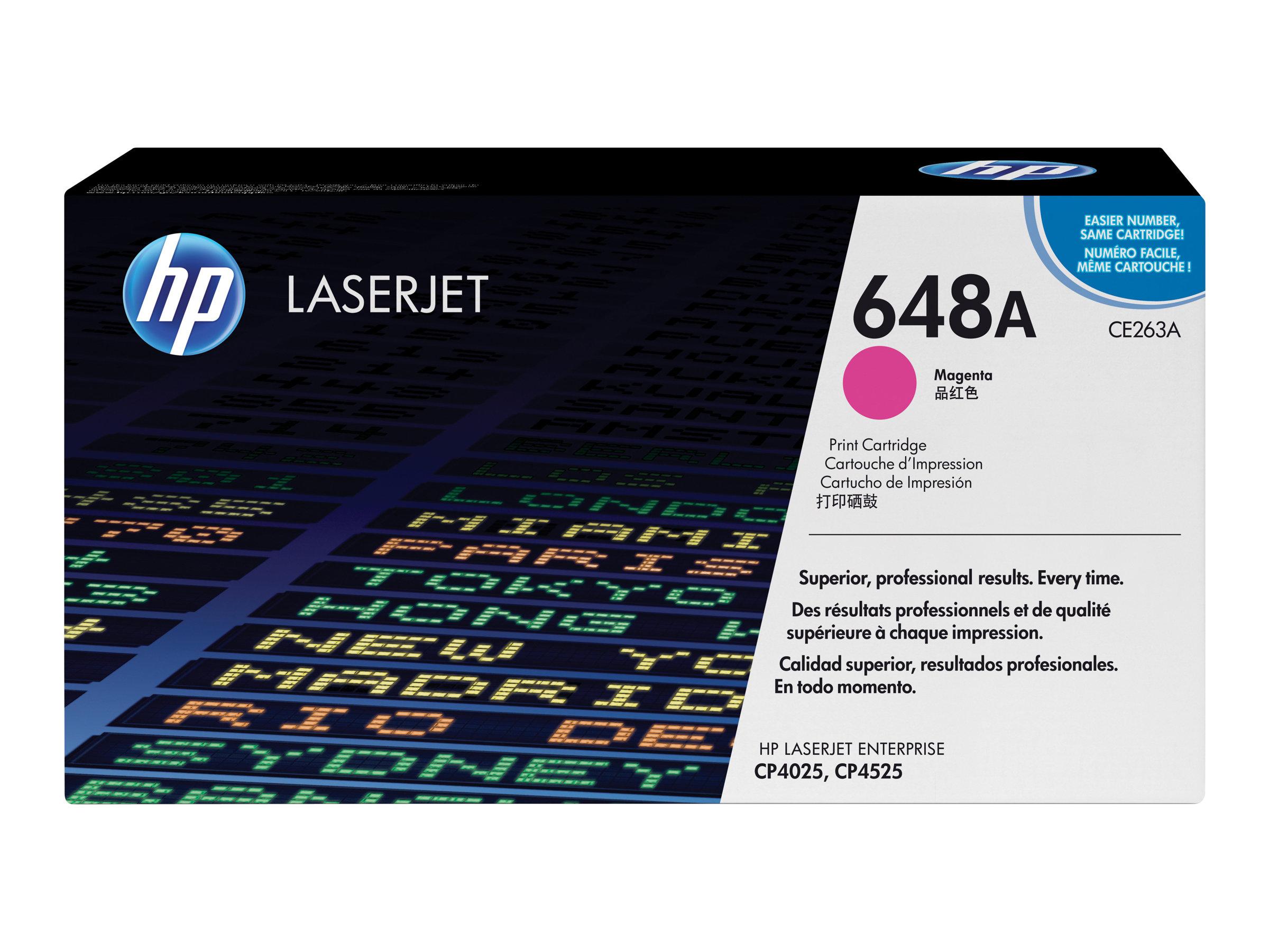 HP 648A - Magenta - Original - LaserJet - Tonerpatrone (CE263A)