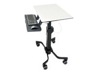 TeachWell Mobile Digital Workspace Multimedia cart Graphit - Grau