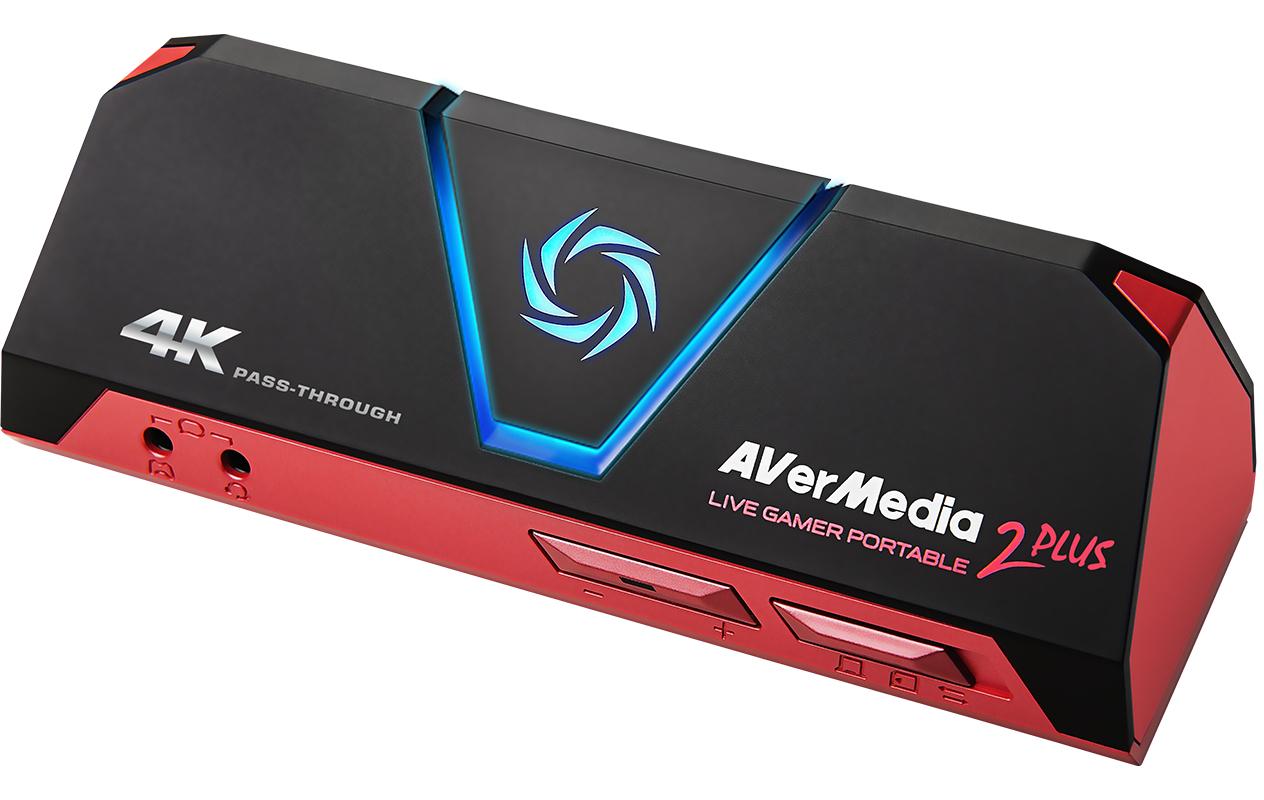 AVerMedia Live Gamer Portable 2 Plus 60 fps 480p,576p,720p,1080p,2160p 185.5 g 147 mm 47 mm 57 mm