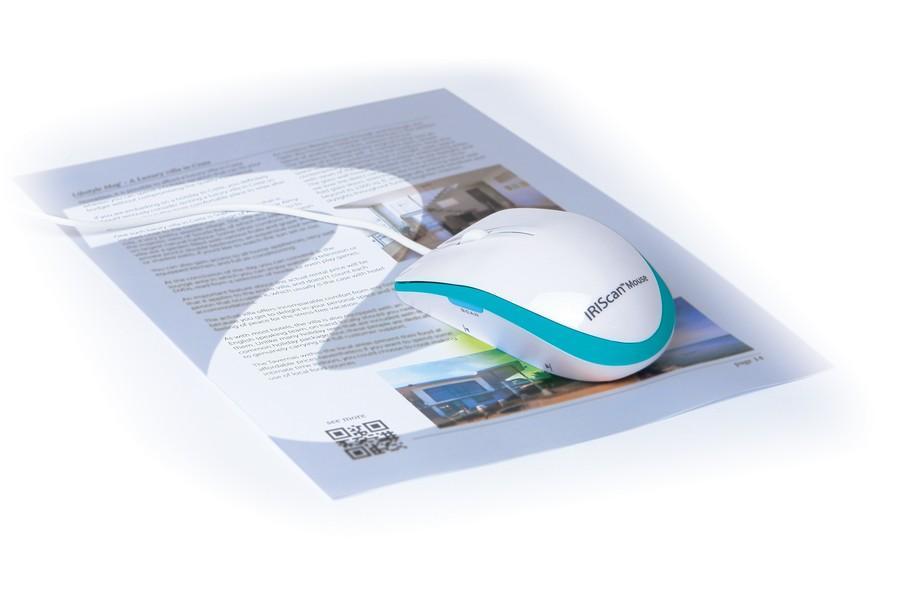Vorschau: IRIS IRIScan Mouse Executive 2 - Scanner - 300x300 dpi - A3 USB, USB 2.0
