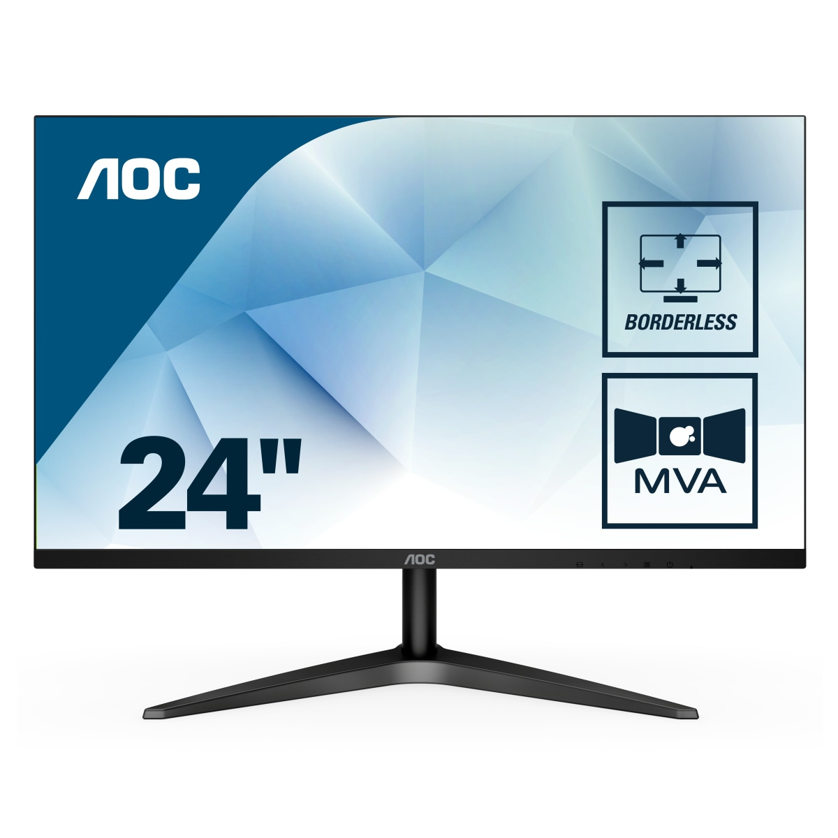 AOC 24B1H 23.6' 1920 x 1080 VGA (HD-15) HDMI 60Hz