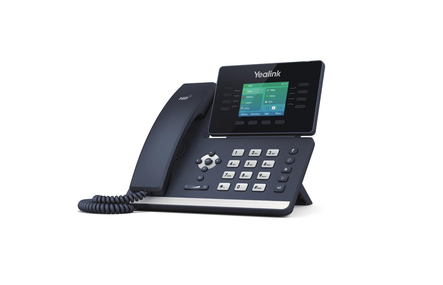 Yealink SIP-T52S Kabelgebundenes Mobilteil 16Zeilen LCD Schwarz IP-Telefon