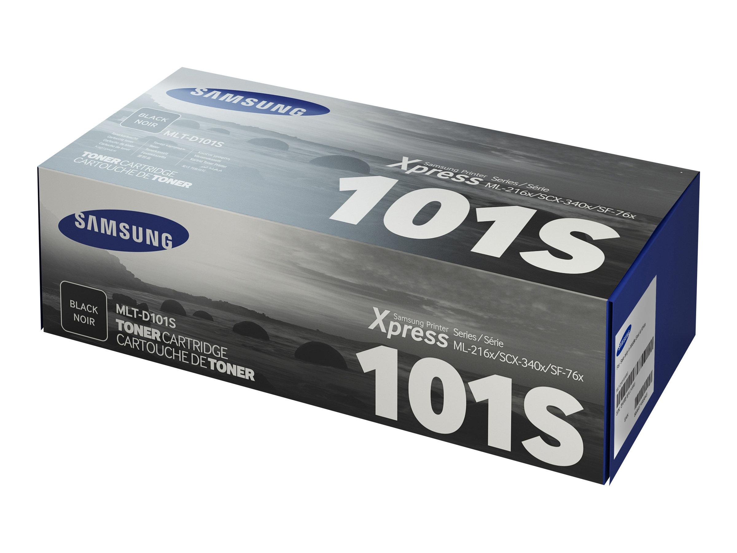 HP Samsung MLT-D101S - Schwarz - Original - Tonerpatrone (SU696A)