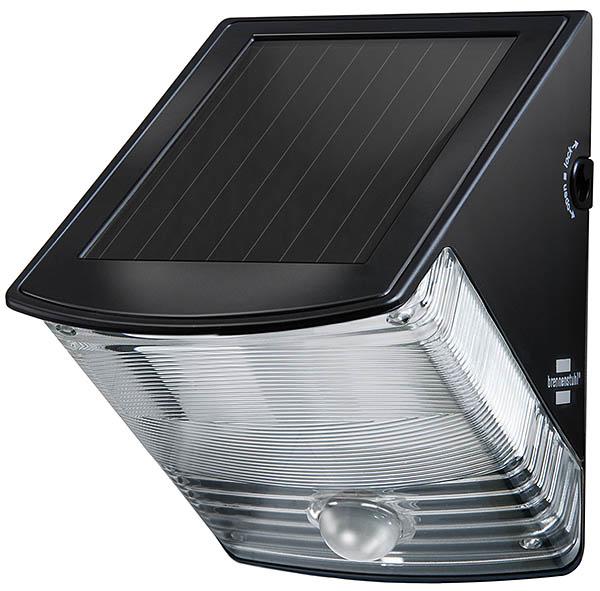 Brennenstuhl BN-0821 - Wandbeleuchtung für den Außenbereich - Schwarz - IP44 - Garage - Garten - Bewegungssensor - 2 Glühbirne(n)