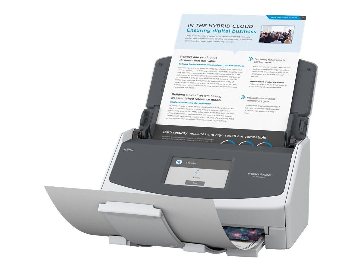 Fujitsu ScanSnap iX1500 - Dokumentenscanner - Dual CIS - Duplex - 216 x 863 mm - 600 dpi x 600 dpi - bis zu 30 Seiten/Min. (einfarbig)