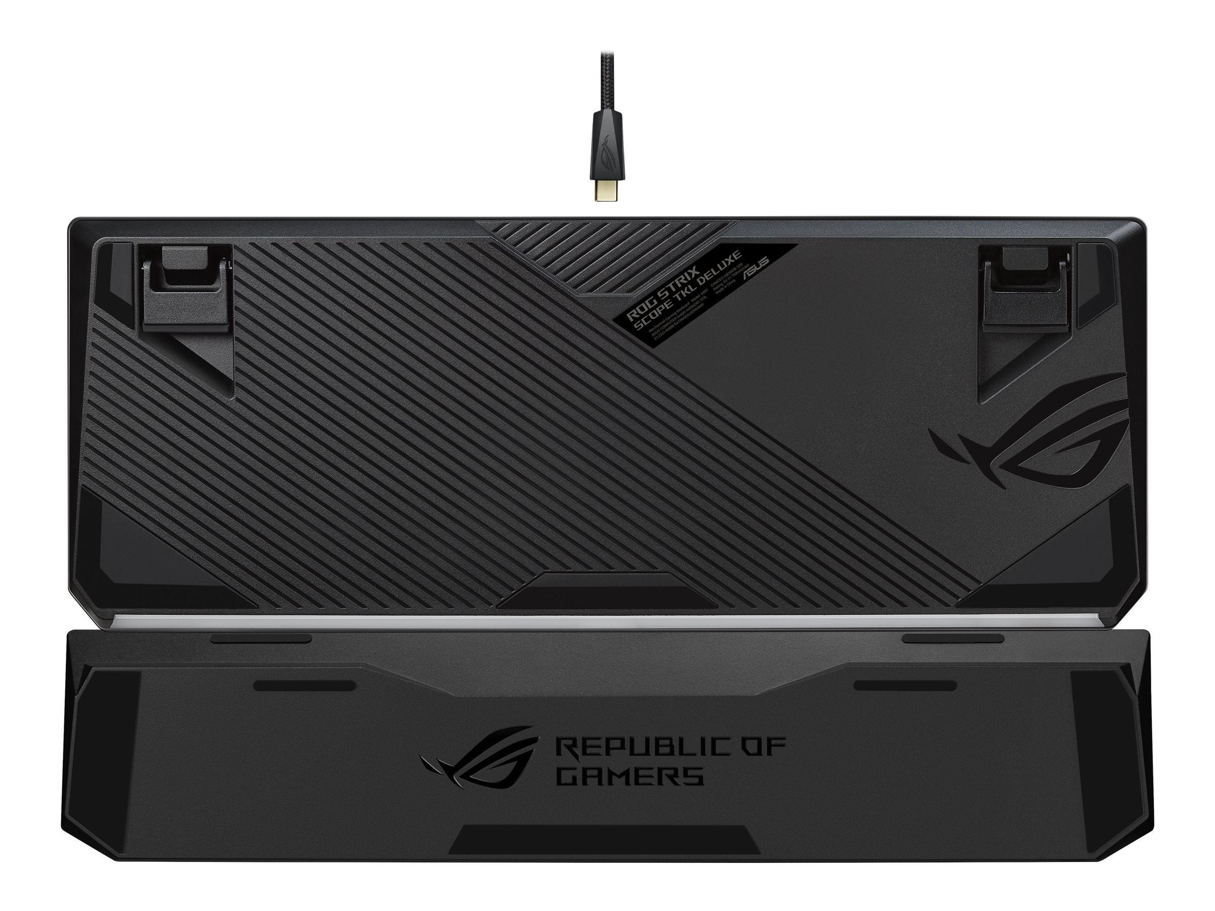 ASUS ROG Strix Scope TKL Deluxe - Tastatur - backlit