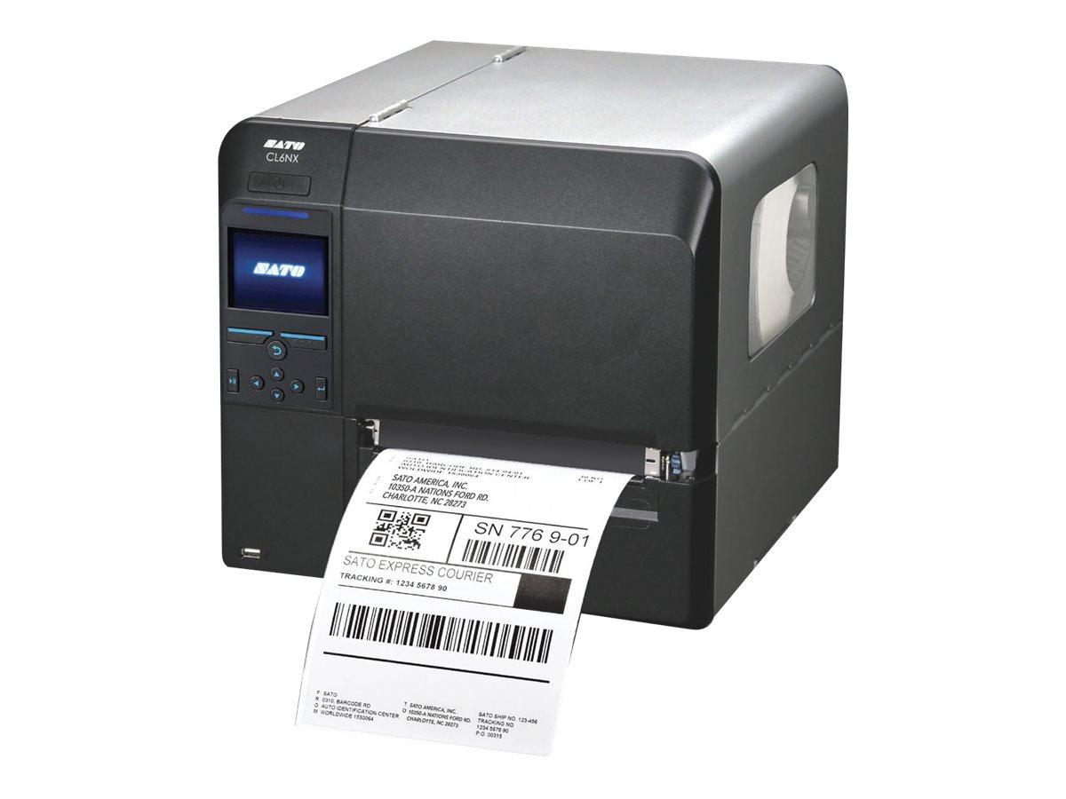 SATO CL 6NX - Etikettendrucker - TD/TT - Rolle (17,7 cm)