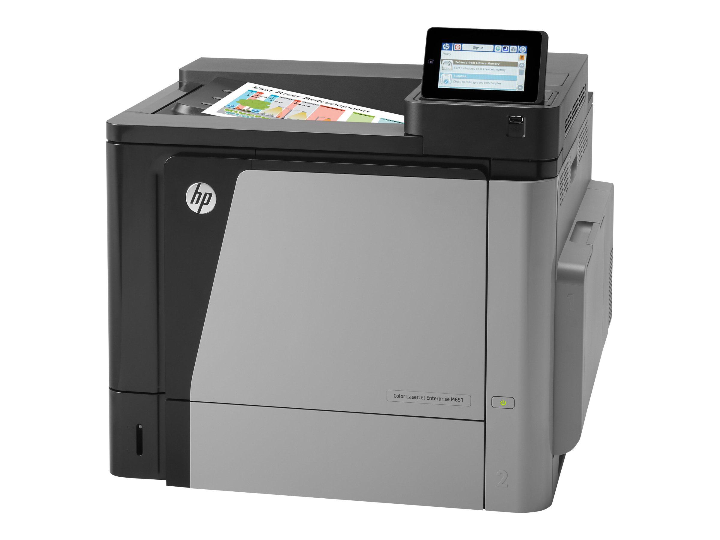 Vorschau: HP Color LaserJet Enterprise M651dn