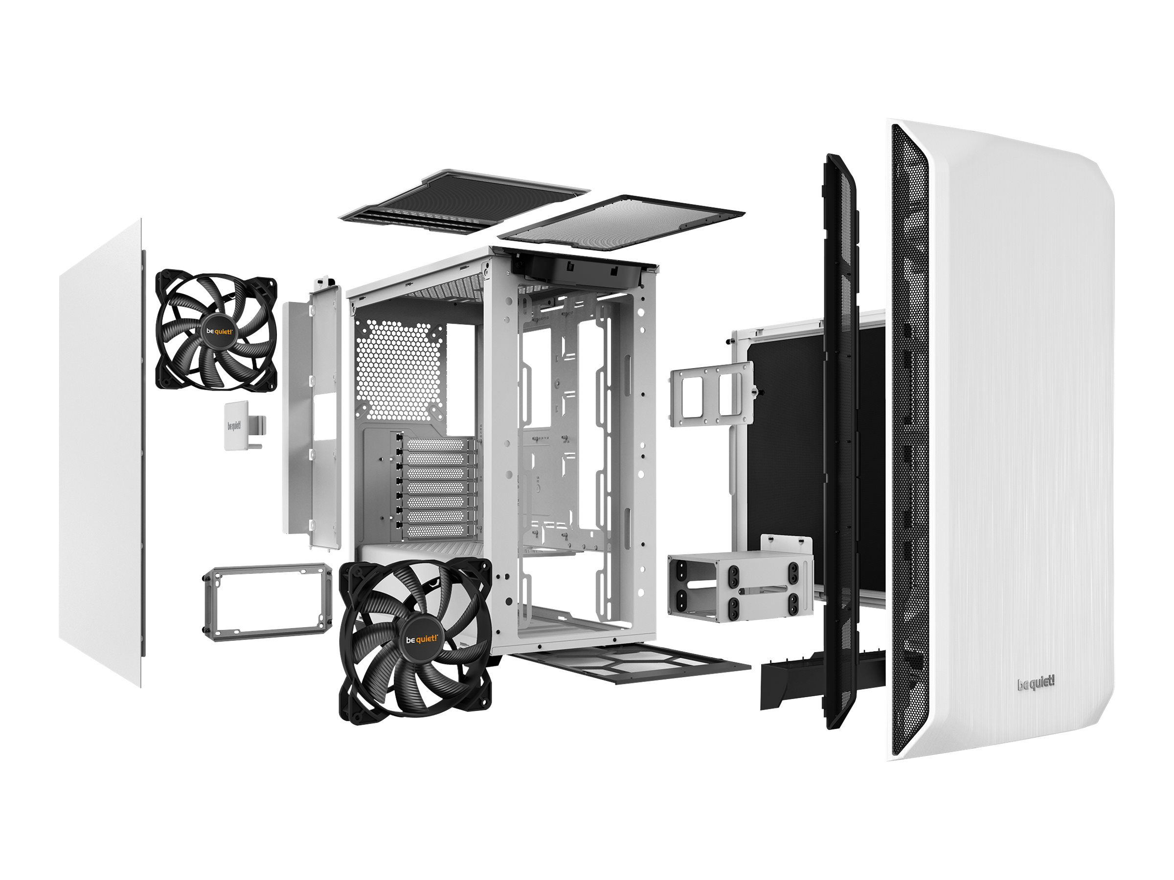 Be Quiet! Pure Base 500 - Tower - ATX - ohne Netzteil (ATX / PS/2)
