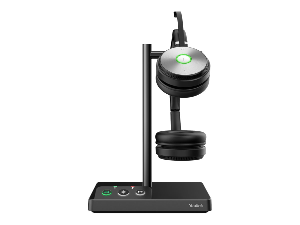 Yealink WH62 Dual - Headset - On-Ear - kabellos - DECT